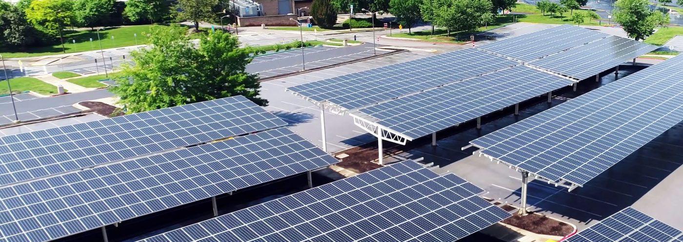 Solar Parkplatz